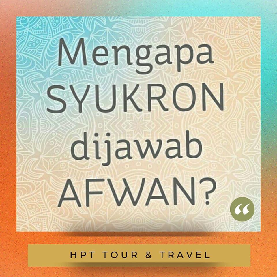 hpttourtravel-syukron-dijawab-afwan
