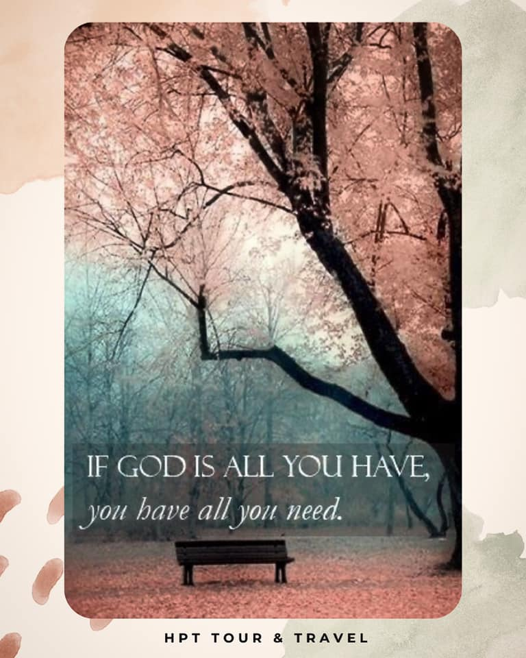 hpttourtravel-if-god-is-you-have